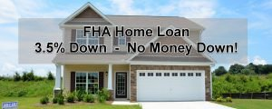FHA home loans 3.5% down