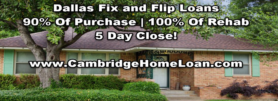 Fix and Flip Dallas Fort Worth