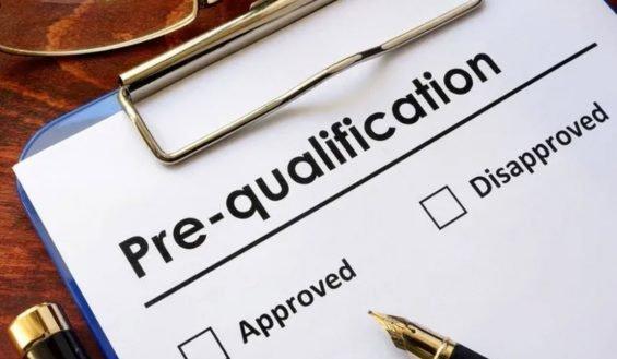 pre-qualification pic